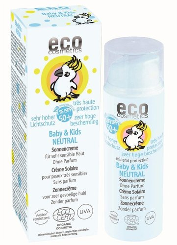 Eco Baby & Kids Sonnencreme LSF 50+ neutral & parfümfrei 50ml