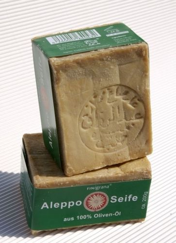 Olivenöl-Seife Alepposeife von FINigrana 180-200g